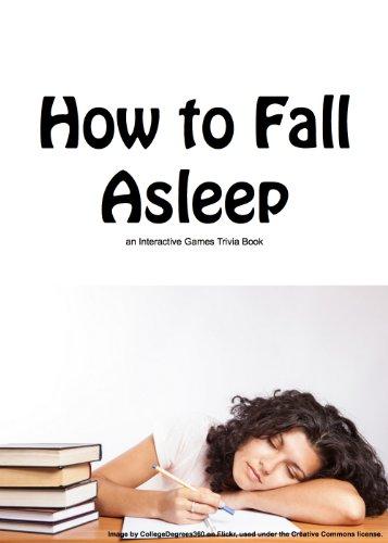 How to Fall Asleep (English Edition)