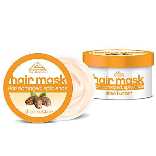 Excelsior Masque capillaire au beurre de karité Pot 175 ml (lot de 6)