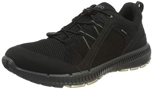 ECCO Herren Terrracruise II M BlackBlack Sneaker, Schwarz (Black/Black), 41 EU