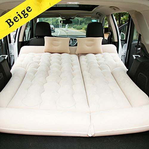 Nach Auto-luchtbed-matras, met luchtpomp, outdoor-reis, opblaasbaar luchtkussen, gratis elektrische luchtpomp, opvouwbaar