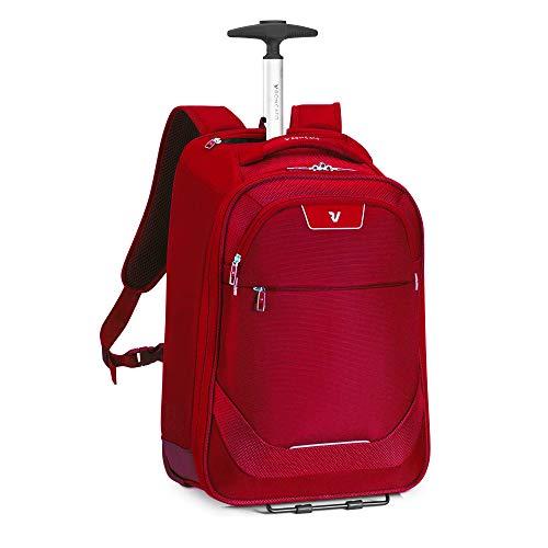 RONCATO Joy mochila trolley rojo, medida: 55 x 40 x 20 cm, compartimentos interiores para la organización interna de todas tus cosas, Garantía de 3 años