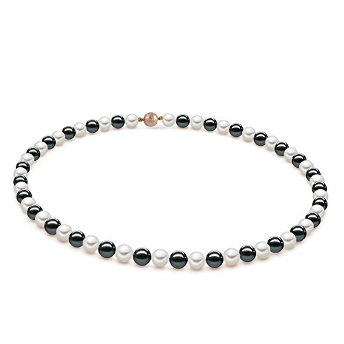 Original McPearl Akoya Perlenkette Comfort mit hochwertigem Magnetverschluß. Top Qualität aus Deutschland.