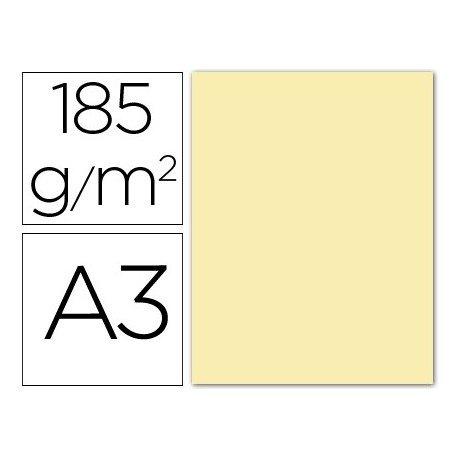 Canson 200040181 Iris Vivaldi glattes, farbiges Papier, A3, creme 02