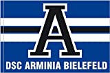 Hissflagge Arminia Bielefeld A - 100 x 150 cm + gratis Aufkleber