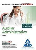 Auxiliar Administrativo de las Instituciones Sanitarias de la Comunidad Autónoma de Cantabria. Test