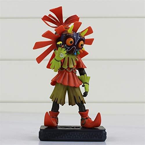 CJYVV 16cm 3D Skull Anime Toy Model Anime The Legend of Zelda Majora Figure Toy Majora's Mask Model Toys Doll Favorite Statue Anime Fans Surprise Birthday Gift