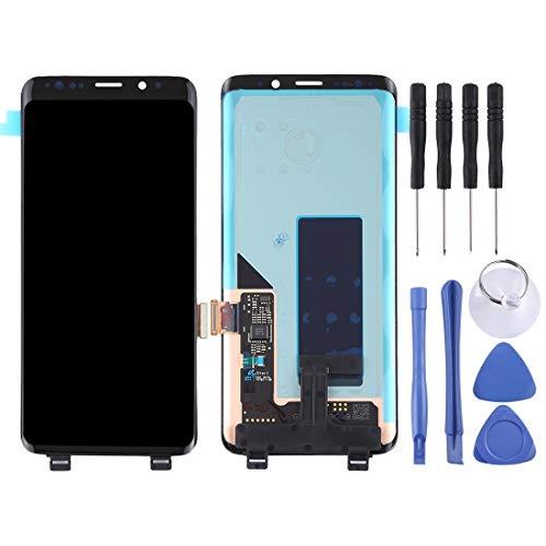 LCD-scherm en Digitizer Full Assembly voor Galaxy S9 + / G965F / G965F / DS / G965U / G965W / G9650 (zwart) (kleur: zwart)