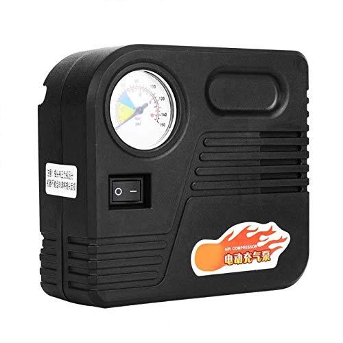FOLOSAFENAR Cilindro Durable del Metal de la Bomba del compresor de Aire de la Motocicleta de la Bomba del compresor de Aire, para el neumático de la Motocicleta