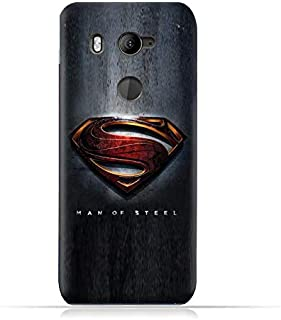 HTC U11 eyes TPU Soft Protective Case with Super Man Logo Design