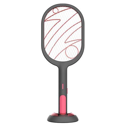N / E Inicio Matamoscas Eléctrico Recargable USB Matamoscas Matamoscas Insectos Raqueta de Mano Matamoscas Trampa Hogar Eléctrica Raqueta de Insectos