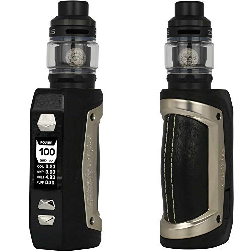 GeekVape Aegis Max Kit 100 W, mit Zeus Sub Ohm Tank 5 ml, Riccardo E-Zigarette, white storm