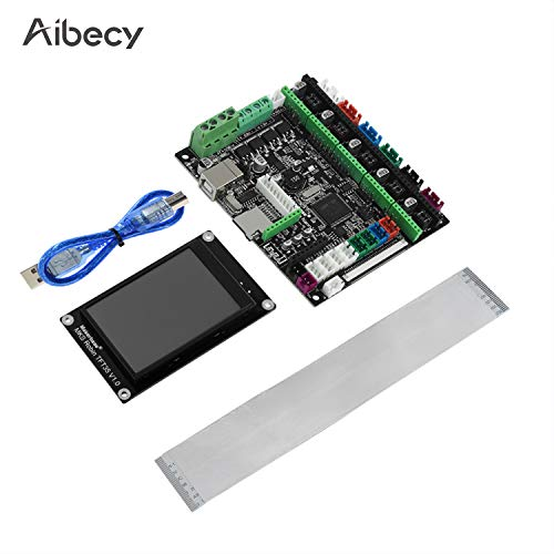 3D Printer Board, Entweg 3D Printer Board STM32 MKS Robin Nano Board V1.2 Hardware Open Source(Support Marlin 2.0) Support with 3.5 Inch Touchscreen USB Cable