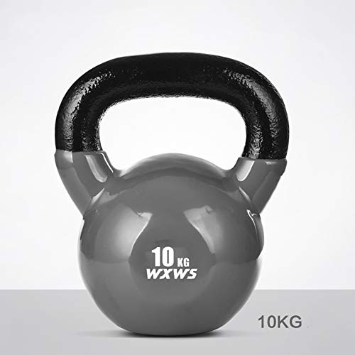 Kettlebell HUAHUA Colorato Fitness, Antiscivolo Rivestito in Gomma, Uomini E Donne Formazione Fitness Equipment, 2kg, 4kg, 10kg, 12kg, 14kg, 16kg, 18kg, 20kg (Size : 10kg)