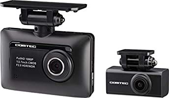 Comtec ZDR - 015 Drive Recorder, Front & Rear 2.0 MP Full HD Camera, GPS Functionality, Safe Drive Support...