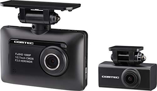 コムテック 前後2カメラ ドライブレコーダー ZDR-015  前後200万画素 Full HD ノイズ対策済 夜間画像補正 L...