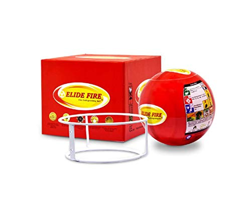 Mini ELIDE FIRE Extinguishing Ball Automatic Surveillance Firefighting 4'