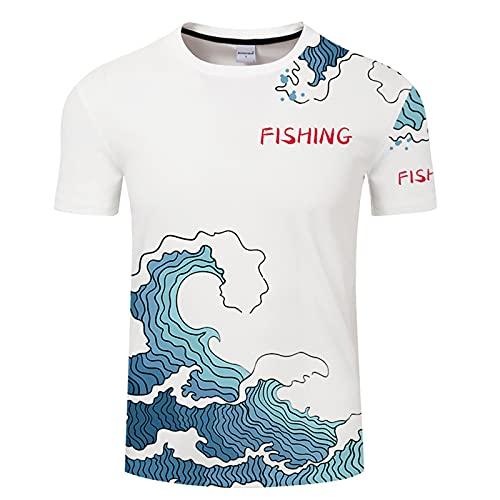 SSBZYES Camiseta para Hombre Camisetas De Manga Corta Verano Camisetas Informales para Hombre Camisetas De Talla Grande para Hombre Camisas para Hombre Camisetas con Estampado De Pez para Hombre