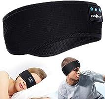 Sleep Headphones,Bluetooth Sport Headband Wireless Music Sleeping Headphones with IPX6 Waterproof Speakers Long Time Play...