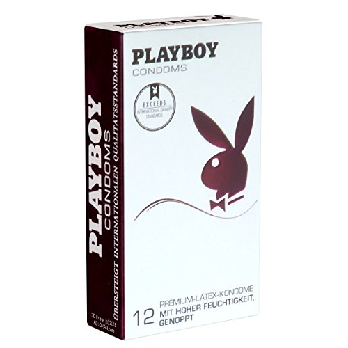 Playboy Condooms Roze Gespoten - 12 Condooms