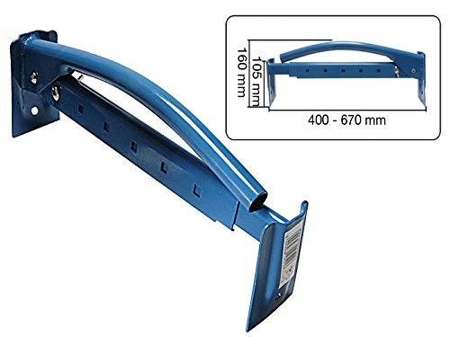 Ziegelzange 400-670mm Steinzange Steinheber Träger Klinkerträger