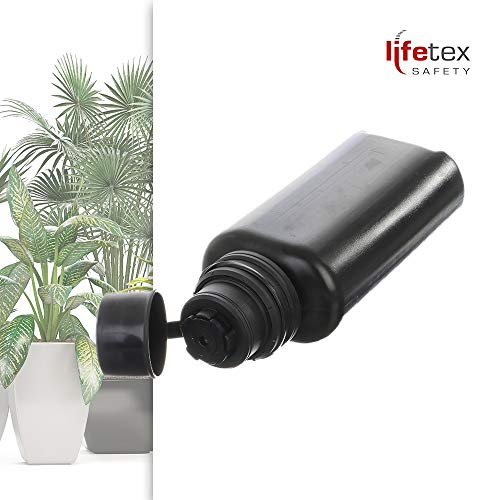 lifetexsafety 5er Set - Kunststoffflaschen zur Topfpflanzenbewässerung/Urlaubsbewässerung/Düngung