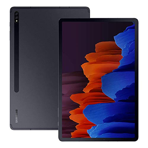 Samsung Galaxy Tab S7+ 5G Android Tablet Mystic - Black (UK Version) (Renewed)