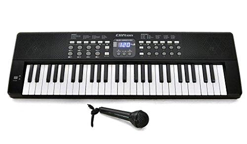 CLIFTON Einsteiger-Keyboard LP5450 mit Mikrofon