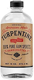 pure gum spirits of turpentine for candida