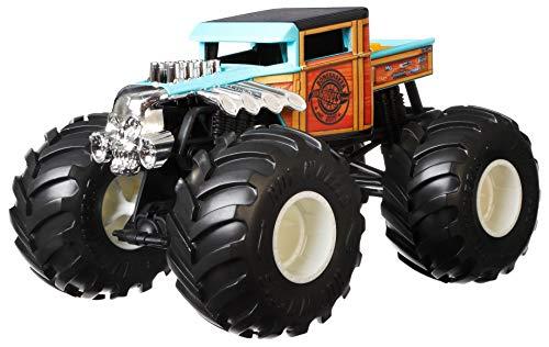 Hot Wheels GWL05 - Monster Trucks Die-Cast Sortiment Spielzeugautos im Maßstab 1:24 für Kinder ab 3Jahren