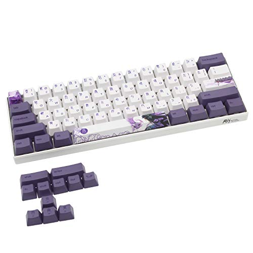 (Only Keycaps) PBT Keycaps Set OEM for MX Switches Mechanical Keyboard ANSI Layout GH60...