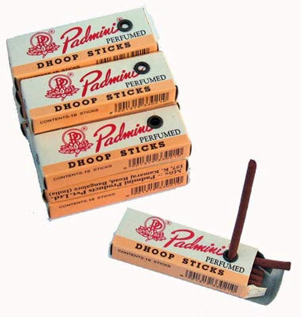 魚突進給料Padmini Dhoop Sticks?–?12ボックスの10?Sticks各?–?5?