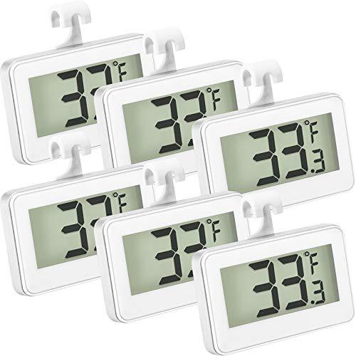 Refrigerator Thermometer Digital Freezer Thermometer Room...