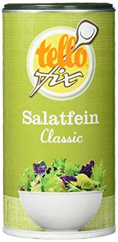 tellofix Salatfein Classic - Salatwürze zur schnellen Zubereitung von Salatdressing - vegan - 1 x 300 g