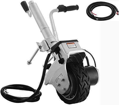 Remolques motorizados propulsados Mover, 12V de Seguridad Eléctrica de la rueda del remolque Jack Jockey Por mueve Camper Caravana Barco máximo del vehículo de carga 2270 kg (5000lbs)