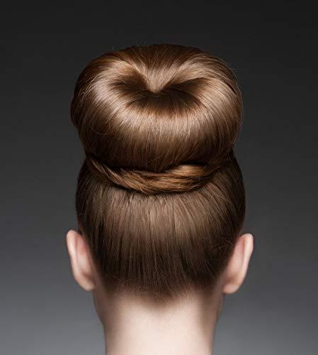 Duttkissen Haarknoten Haarschmuck Dutt Haardutt Donut Knotenkissen Neu 568, Farbe:Blond