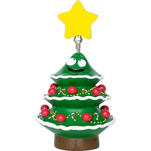 GRUSS & CO Sheepworld, 49727 - Fotohalter, Weihnachtsbaum, Polyresin, 9,5cm x 5cm