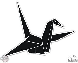 Origami Crane - Vinyl Sticker Waterproof Decal