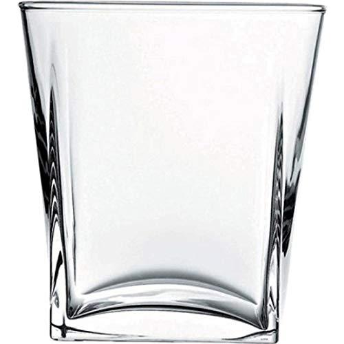 Pasabahce Carre Lot de 6 verres à whisky 310 ml