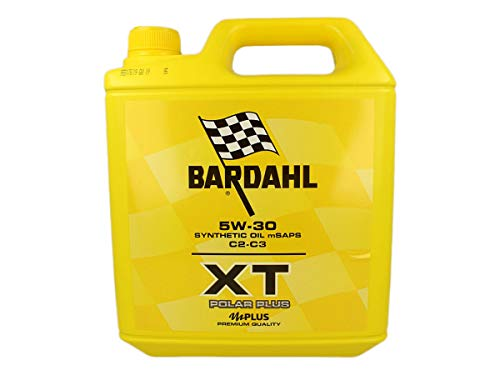 Bardahl XT Polar Plus 5W30 C2 C3 motorolie Tanica Da 5 Litri