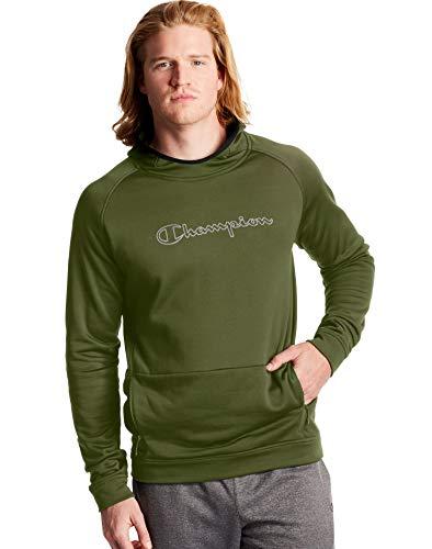 Champion Men's Sport Hoodie, Cargo Olive, X Large