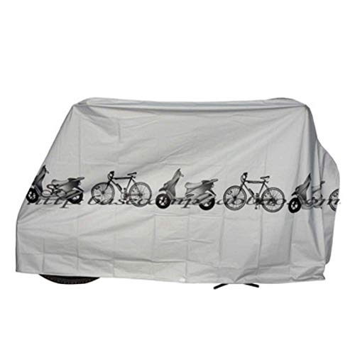 Iwinna Bike Cover, Bicycle Waterproof Cover Outdoor Portable Scooter Bike Motorcycle Rain Dust Cover Bike Protect Gear Cycling Bicycle Accessories