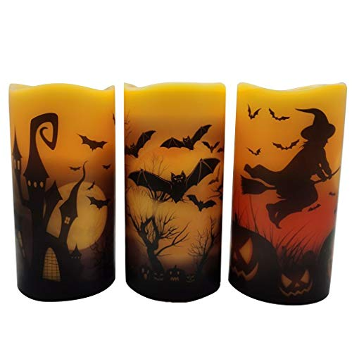 AQ89 Led Candle  Led Electronic Flameless Candles Light for Halloween Nightlight Home & Garden Home Decor