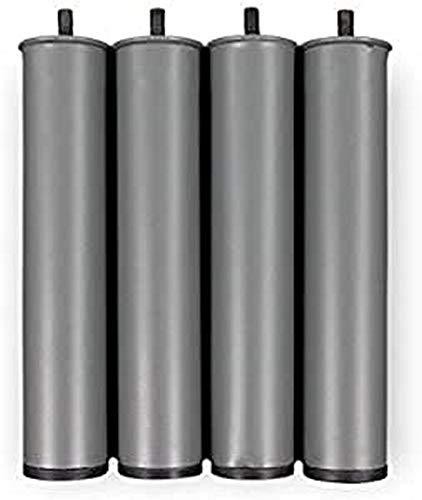 Gerialife® Juego de 4 patas para Cama Articulada Eléctrica Reforzada (35 cm)