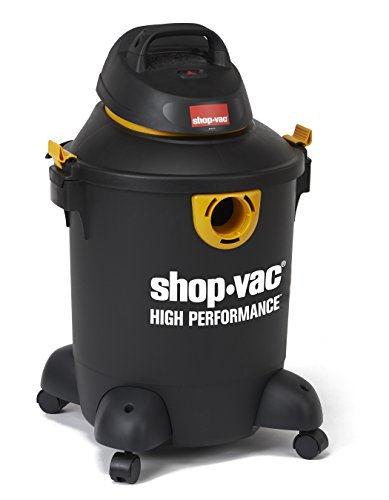Shop-Vac 5987200 10 gallon 4.5 Peak HP High Performance Series Wet Dry Vacuum, Black/Yellow