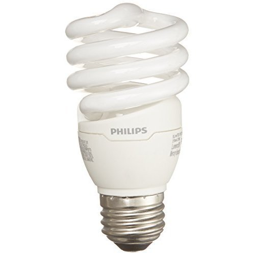 Philips LED 417071 Energy Saver Compact Fluorescent T2...