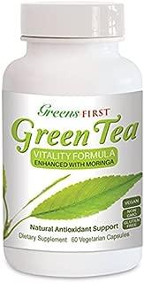 Green Tea Vitality Formula, Enhanced with Moringa