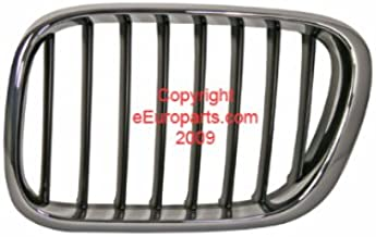 BMW Genuine Grill / Grille, front, left for X5 3.0i X5 4.4i X5 4.6is