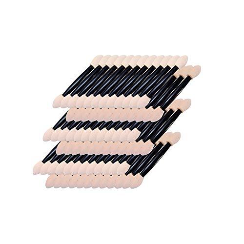 Packung mit 50 Stück Einweg-Weichschaum Tip Lidschatten Applikatoren Make Up Lidschatten Schwamm an...