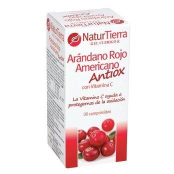 NATUR TIERRA arándano rojo americano antioxidante envase 30 cápsulas
