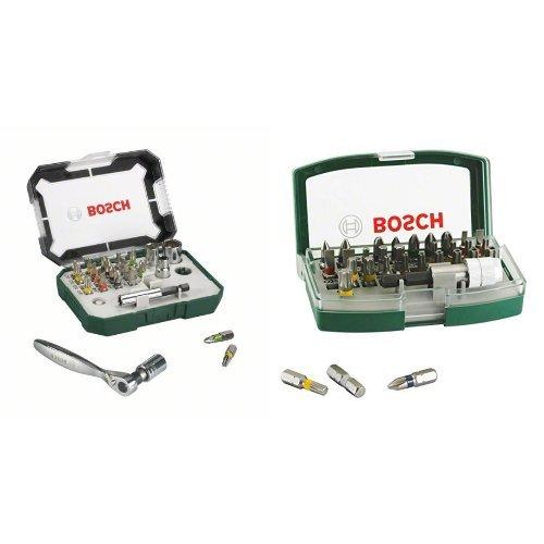 Bosch 2607017322 - Conjunto de 26 unidades para atornillar (con vasos y...